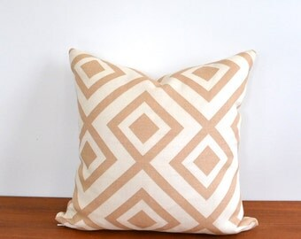 "David Hicks Throw Pillow Cover 16"" x 16"""