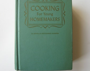 1959 retro kitchen Cooking for Young Homemakers cookbook
