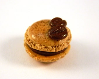 Espresso Macaron Charm , Macaron Planner Charm , Coffee Macaron Charm , Mocha Macaron Charm , Macaron Charm , Planner Charm