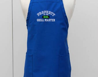 Apron for Him, Grill Master BBQ Apron