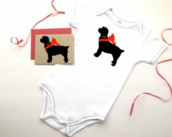 Cockapoo Baby Bodysuit Organic Infant Clothes % ANIMAL RESCUE Clothing Eco Friendly Jumper Romper Snapsuit Creeper One Piece 3-6 mo 9-12 mo