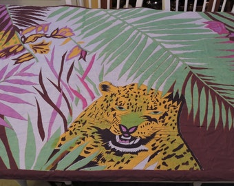 Vintage  Animal Themed Wrap,Throw,Wall Hanging,Accessory,Home Decor,Birthday Gift,Holiday Gift,Jungle