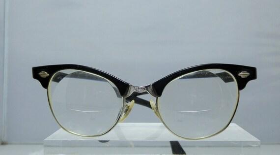 Vintage full frame retro ladies art craft eyeglasses frames for Art craft eyeglasses vintage