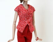 Red outfit for Fashion Royalty Dolls