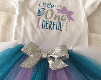 Little Miss ONEderful Shirt or Onesie Birthday Shirt First Birthday Outfit
