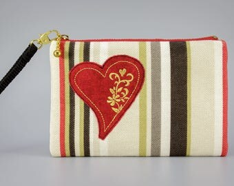 SALE - Clutch / Embroidered purse / Bag / Pouch Gifts for girls