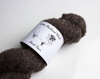 "Printable PDF- ""Hand Spun Yarn"" Labels for Shetland Wool"