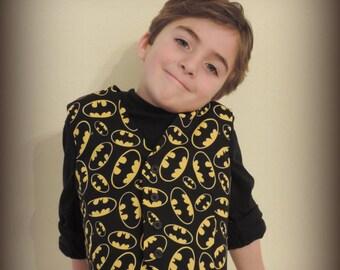 Boys batman vest size 5 batman boys clothes, summer clothes for boys, batman birthday party, cloths for boys yellow black
