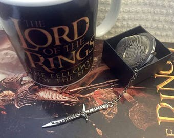 Lord of the Rings tea ball 'Sting' loose leaf tea infuser The Hobbit