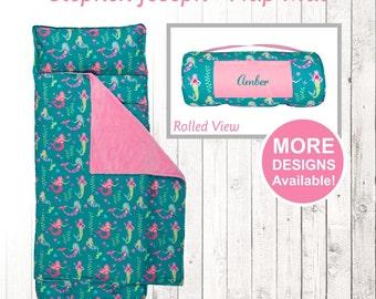 Mermaid Nap Mat, Stephen Joseph Nap Mat, Toddler Nap Mat, Mermaid Blanket, Mermaid Sleeping Bag, No Zip Sleeping Mat, Mermaid sleeping bag
