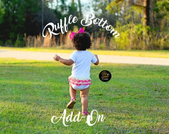 Ruffle Bottom Add-On