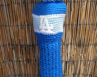 Crocheted Driver Head Cover - Pick A Team or Pick the Color Combo You Want Made to Order