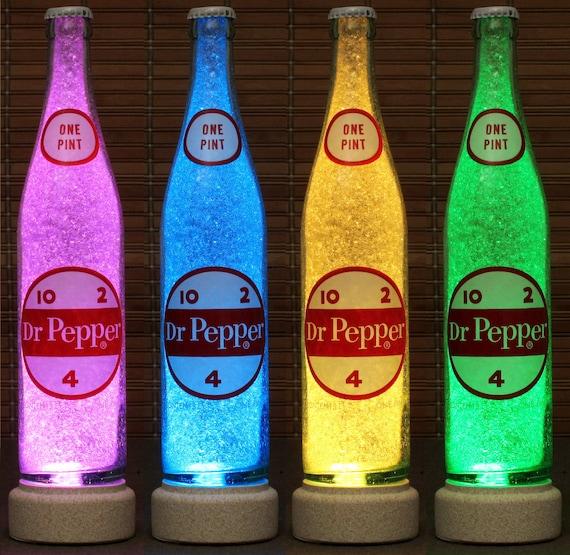 Genuine Vintage 1960's Dr Pepper 16 Oz ACL Label Soda LED