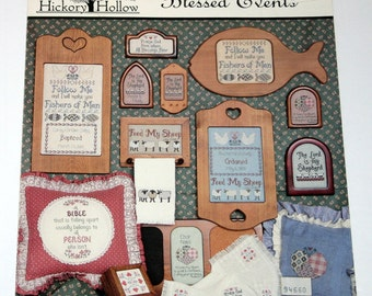 """HICKORY HOLLOW """"Blessed Events""""  Designs Cross Stitch Pattern"""