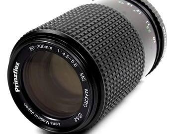 Pentax SLR PK Mount 70-210mm Zoom Telephoto Lens f4.5 Vintage