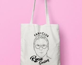 Ryan Gosling Organic Cotton Tote Bag