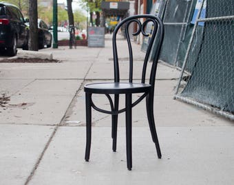 Black Bentwood Chair/ Thonet Chair