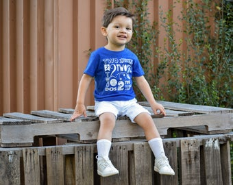 Second Birthday shirt, My Year T Shirt,  Age Shirt, Birthday Shirt, Boys birthday shirt, kids graphic t shirt, boys age shirt, Boys Birthday