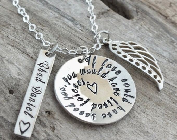 Loss of Mother  Loss of Father  Loss of Son  Loss of Brother  Loss of Aunt  Loss of Uncle  Loss of Sister  Gift for Loss  Memorial Necklace