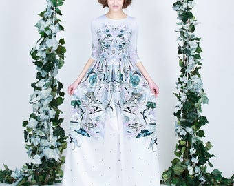 Porcelain  - maxi dress