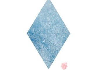 Soft Blue Sugar Crystals Sprinkles - 2.6 oz Pastel, Sprinkle, Baby Blue, Serenity, Spring