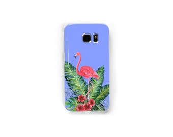 Samsung Galaxy Snap Phone Case, printed phone case, Watercolor phone case, Flamingo Phone Case, Ocean Case, Tropical Case, Painted Case
