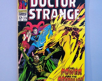 Vintage 1968 Dr Strange No. 174 Good Condition No Missing Pages or Cut Outs