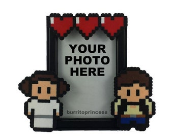 Star Wars Picture Frame - Couples Picture Frame - Couples Photo Frame - Nerd Couple - Star Wars Wedding - Star Wars Valentine's Day Gift