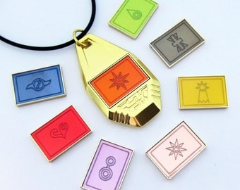 Digimon: Tag With 8 Removable Crests (Complete Set)
