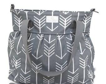 Diaper Bag Pattern - Diaper Bag - Tote Bag Pattern - Sewing Pattern - Diaper Bag