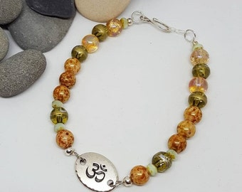 Golden OM Bohochic Bracelet - Golden Om Bracelet - Bohochic Bracelet