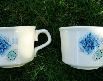 """Taylor Smith and Taylor Dishes - Mid Century Dishes - """"Fabrique"""" by TST -  TST Cups -  TST Dishes - Taylor Smith Taylor Dishes """"Fabrique"""""""