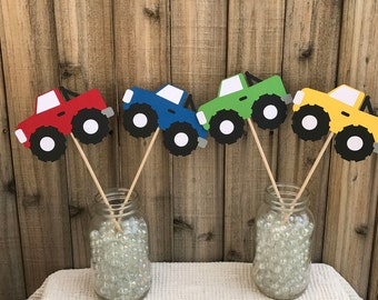 Monster Truck Centerpiece