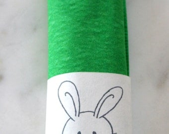 20 Bunny Paper Napkin Rings - Easter Bunny Decorations - Bunny Decorations