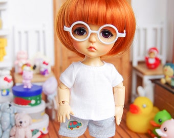 "Lati Yellow/ Puki Fee - Short Pant - ""Soft Air"" - WashDenim&Denim"