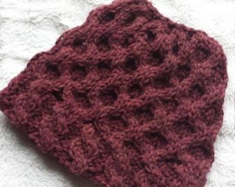 Messy bun hat/ponytail hat