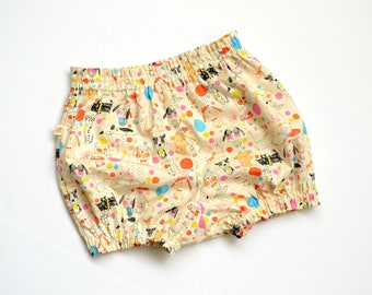 Puppy Bloomers - Shorts - Diaper Cover - Shorty - Baby Shorts - Nappy Cover - Toddler shorts - Baby Boy bloomers - Baby Girl Bloomer