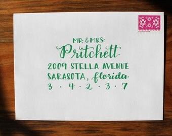 Envelope Calligraphy, Custom Envelopes, Invitation Calligraphy, Wedding Invitation Calligraphy, Hand Lettered Envelopes, Custom Calligraphy