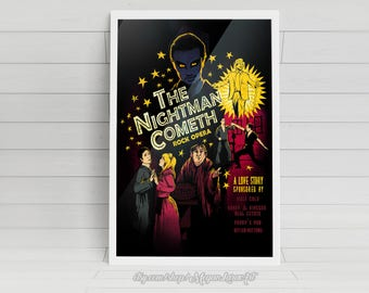 """The Nightman Cometh - It's Always Sunny in Philadelphia artwork - signed glossy poster - 11""""x14"""""""