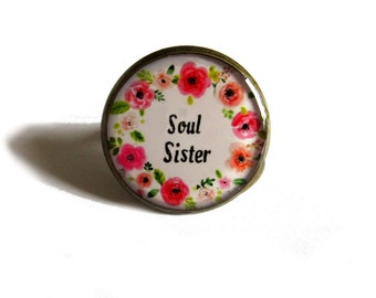 Sister Jewelry - Soul Sister - Sister - Sister Rings - Sisters - Soul sister ring - BFF ring - Gifts for Best Friends - Sister Gift