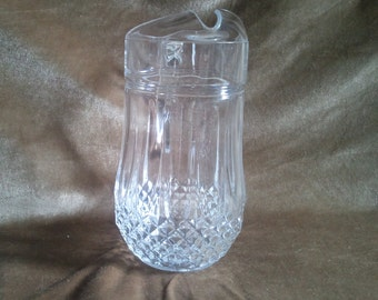Cristal d'Arques 'Longchamp' Lead Crystal Pitcher...Free Shipping!