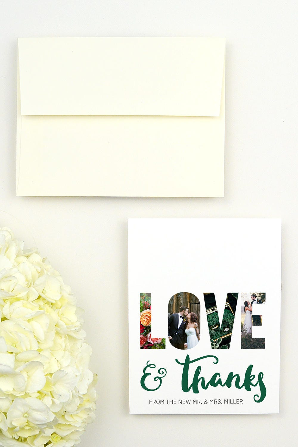 Photo Wedding Thank You Cards Picture Thank You Cards for – Personalized Thank You Wedding Cards