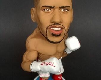 Anthony Joshua caricature limited edition figurine