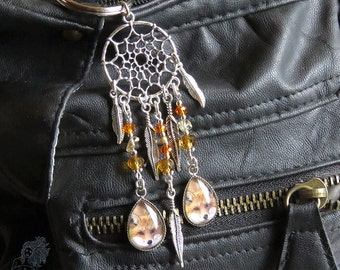 Fox Dreamcatcher handbag charm