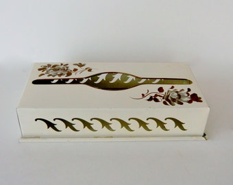 Vintage Metal Kleenex Tissue Dispenser Holder Nashco Products New York