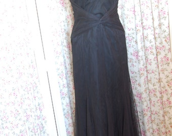 Vera Wang Maids black special occasion dress. Think New Years.