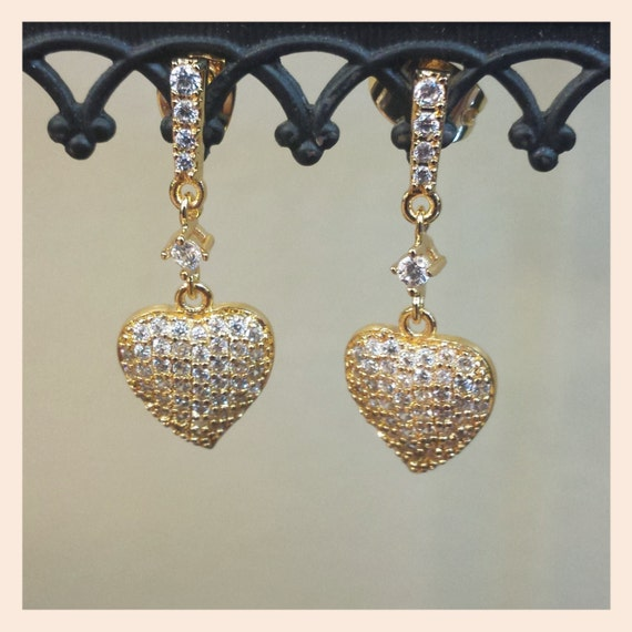 sale kate middleton inspired pave leaf earrings
