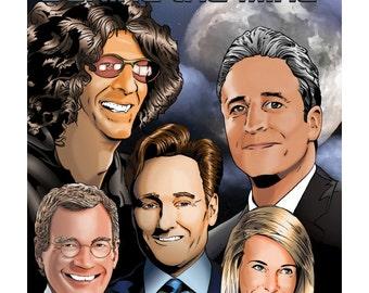 Air Wars Behind the Mike: Howard Stern, David Letterman, Chelsea Handler, Conan O'Brien, Jon Stewart