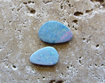 Natural Opal Doublets 2 stones