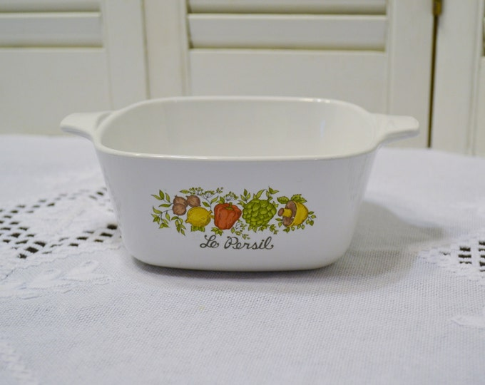 Vintage Corning Ware Spice of Life Casserole Le Persil 700ml P43B Cookware Bakeware PanchosPorch